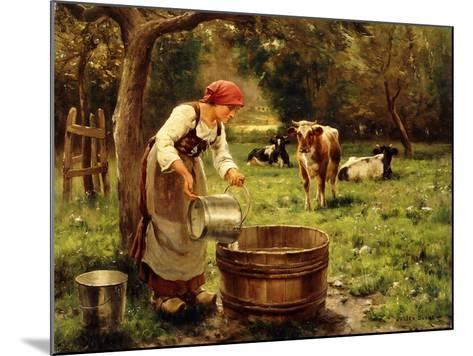 Tending the Cows-Julien Dupre-Mounted Giclee Print