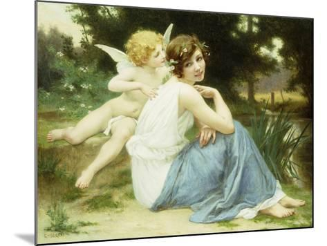 Love's Whisper-Guillaume Seignac-Mounted Giclee Print