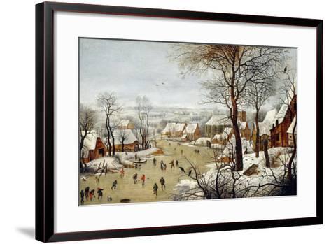 The Birdtrap-Pieter Brueghel the Younger-Framed Art Print