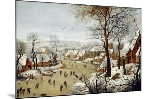 The Birdtrap-Pieter Brueghel the Younger-Mounted Giclee Print