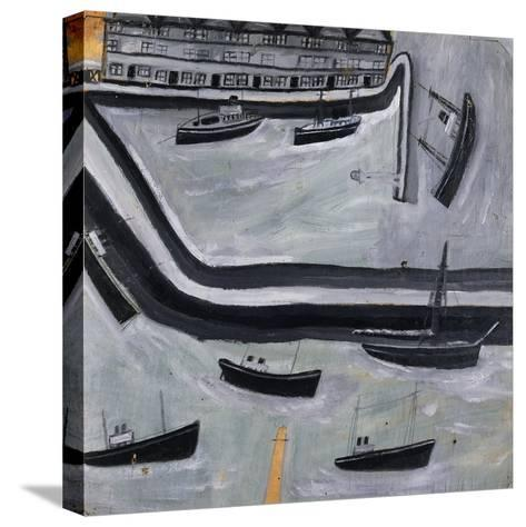 The Harbour-Alfred Wallis-Stretched Canvas Print