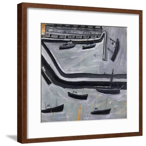 The Harbour-Alfred Wallis-Framed Art Print