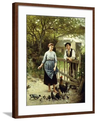 Young Farmers-Edouard Debat-Ponsan-Framed Art Print