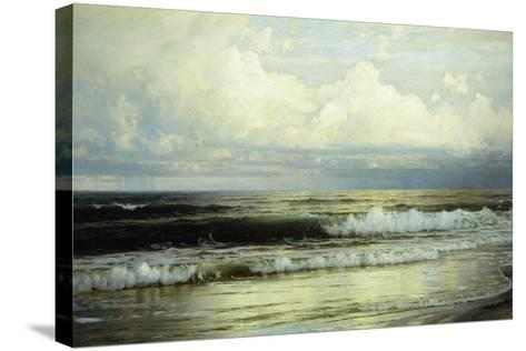 Sunlit Clouds and Sea, 1897-William Trost Richards-Stretched Canvas Print