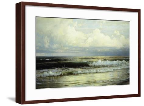 Sunlit Clouds and Sea, 1897-William Trost Richards-Framed Art Print
