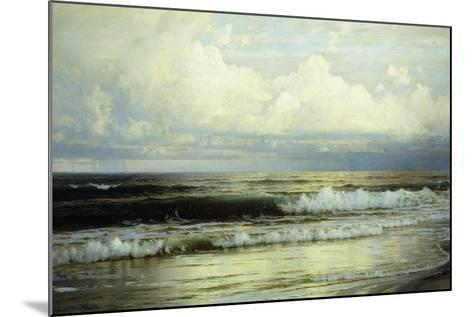 Sunlit Clouds and Sea, 1897-William Trost Richards-Mounted Giclee Print