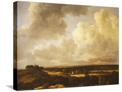 An Extensive Landscape in Summer, 1665-70-Jacob Isaaksz^ Or Isaacksz^ Van Ruisdael-Stretched Canvas Print