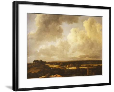An Extensive Landscape in Summer, 1665-70-Jacob Isaaksz^ Or Isaacksz^ Van Ruisdael-Framed Art Print