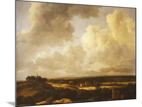 An Extensive Landscape in Summer, 1665-70-Jacob Isaaksz^ Or Isaacksz^ Van Ruisdael-Mounted Giclee Print