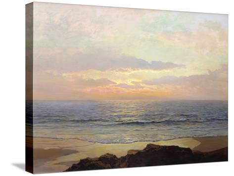 Placid Sunset-Frederick Judd Waugh-Stretched Canvas Print