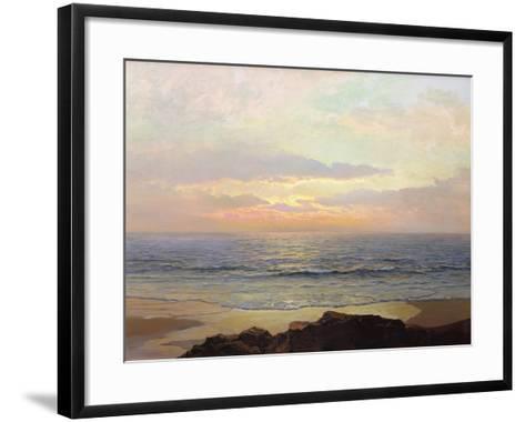 Placid Sunset-Frederick Judd Waugh-Framed Art Print