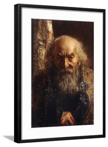 Der Rabbi Von Baghdad, C.1851-Adolph Friedrich Erdmann von Menzel-Framed Art Print