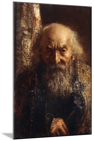 Der Rabbi Von Baghdad, C.1851-Adolph Friedrich Erdmann von Menzel-Mounted Giclee Print