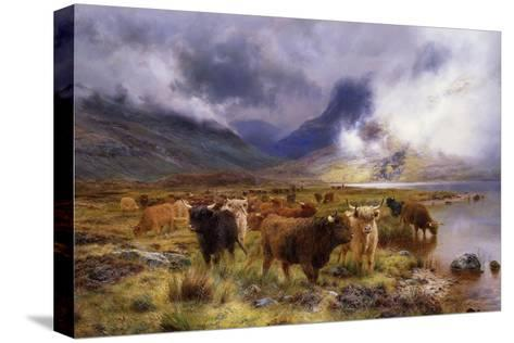 Through Glencoe by Way to the Tay, 1899-Louis Bosworth Hurt-Stretched Canvas Print