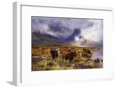 Through Glencoe by Way to the Tay, 1899-Louis Bosworth Hurt-Framed Art Print