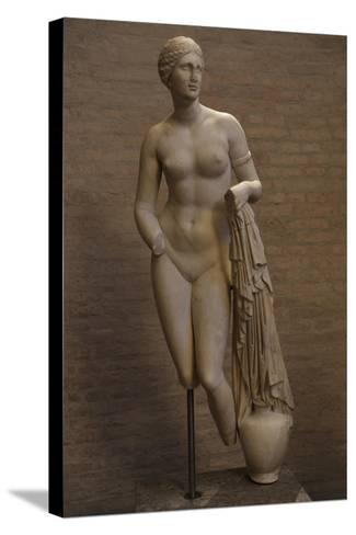Aphrodite of Cnidus. Roman Statue. 1st Century BC--Stretched Canvas Print
