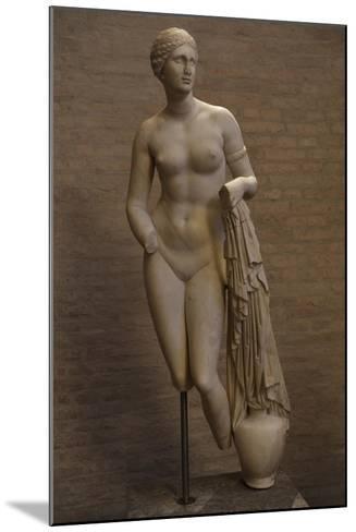 Aphrodite of Cnidus. Roman Statue. 1st Century BC--Mounted Giclee Print