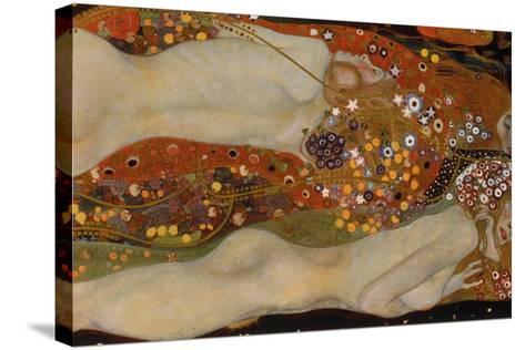 Water Serpents II, 1904-07-Gustav Klimt-Stretched Canvas Print