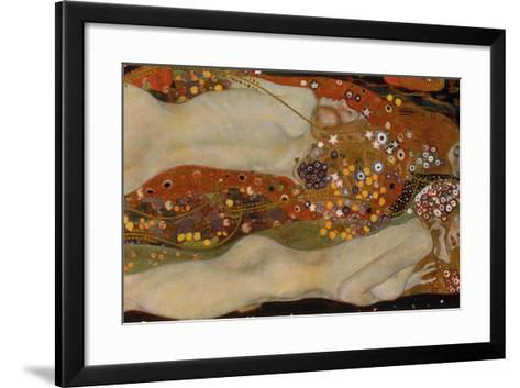 Water Serpents II, 1904-07-Gustav Klimt-Framed Art Print