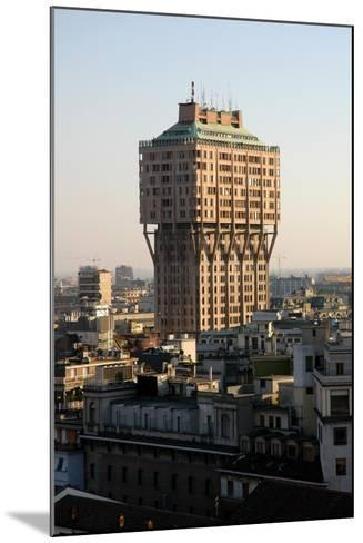 Italy. Milan. The Velasca Tower--Mounted Giclee Print