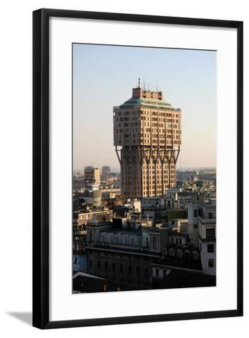 Italy. Milan. The Velasca Tower--Framed Art Print