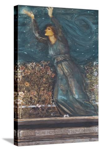 Hope-Edward Burne-Jones-Stretched Canvas Print