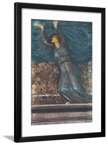 Hope-Edward Burne-Jones-Framed Art Print