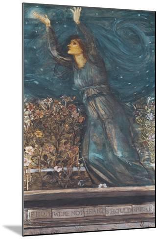 Hope-Edward Burne-Jones-Mounted Giclee Print