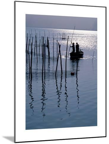 Spain. Valencia. Albufera Lake. Sunset--Mounted Giclee Print