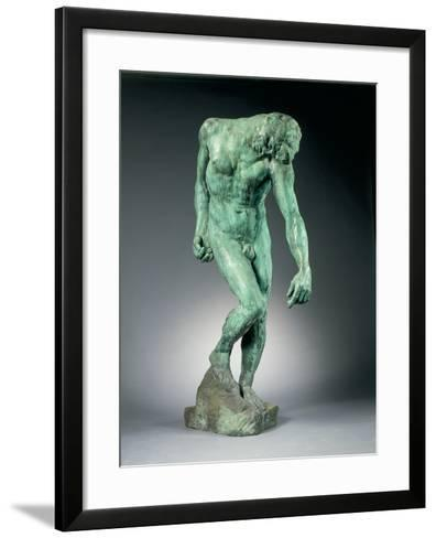 The Shade, Conceived C.1880, Cast C.1925-27-Auguste Rodin-Framed Art Print