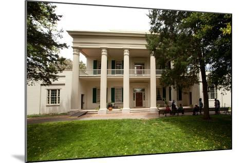 The Hermitage Home of President Jackson in Nashville Tennessee--Mounted Photographic Print