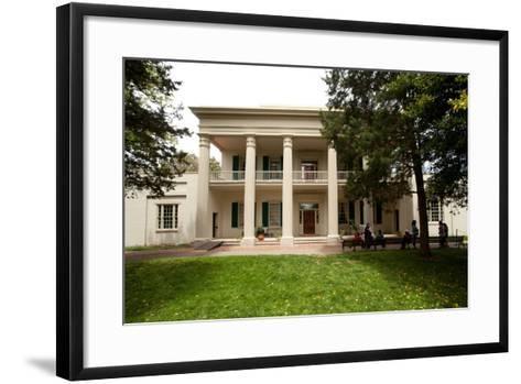 The Hermitage Home of President Jackson in Nashville Tennessee--Framed Art Print