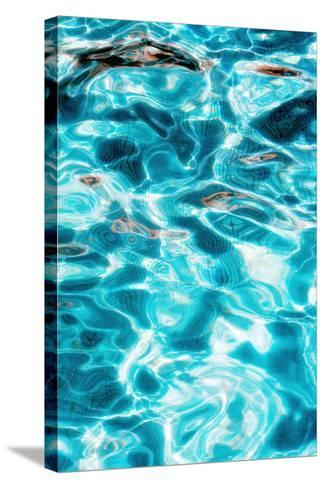 Water Ripples-Carlos Dominguez-Stretched Canvas Print