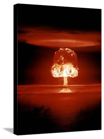 Hydrogen Bomb Explosion-u.s. Department of Energy-Stretched Canvas Print