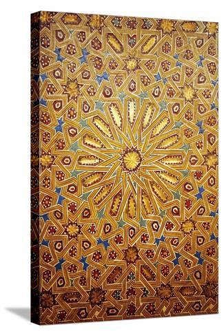 19th Century Moroccan Wall Feature-Peter Falkner-Stretched Canvas Print