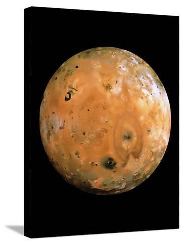 Jupiter's Moon Io-us Geological Survey-Stretched Canvas Print