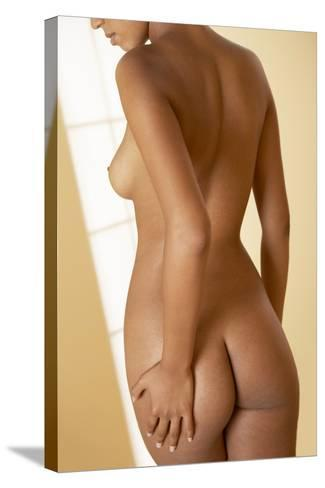 Nude Woman-Adam Gault-Stretched Canvas Print