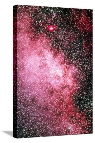 Milky Way Starfield-Dr. Juerg Alean-Stretched Canvas Print