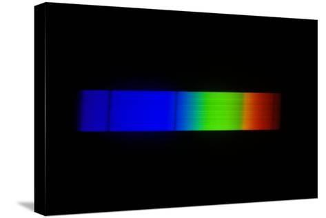 Sirius Emission Spectrum-Dr. Juerg Alean-Stretched Canvas Print