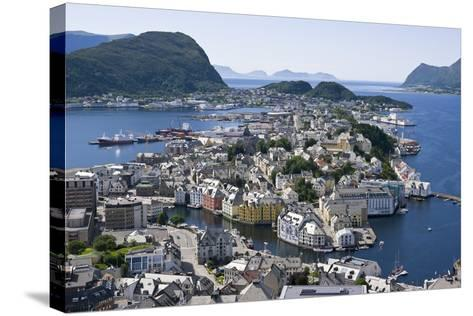 Alesund, Norway-Dr. Juerg Alean-Stretched Canvas Print