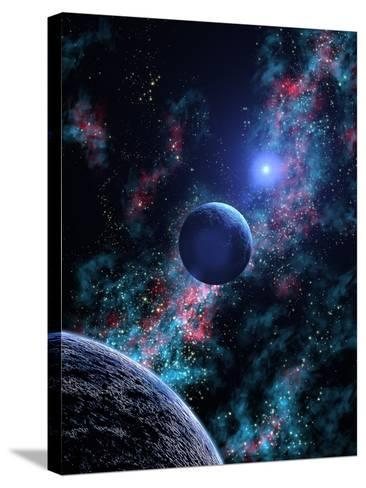 White Dwarf Planets-Julian Baum-Stretched Canvas Print