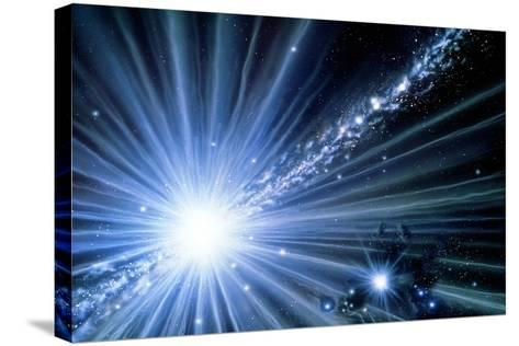 Gamma Ray Universe-Julian Baum-Stretched Canvas Print