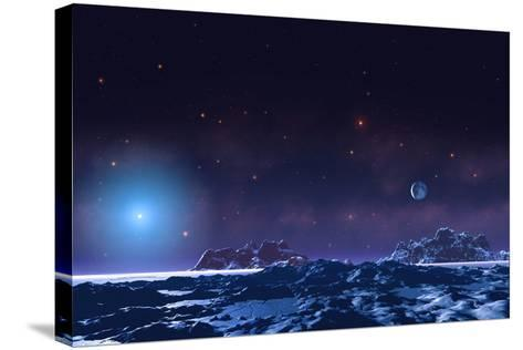 Future Earth-Chris Butler-Stretched Canvas Print