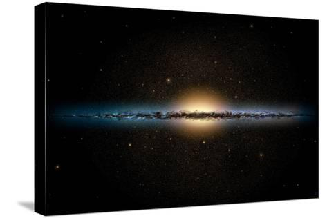 Milky Way Galaxy-Chris Butler-Stretched Canvas Print