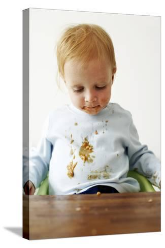 Messy Child-Ian Boddy-Stretched Canvas Print