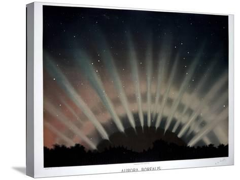 Aurora Borealis, 1872-Science, Industry and Business Library-Stretched Canvas Print