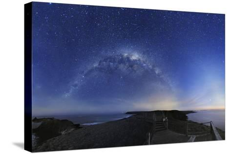 Milky Way Over Phillip Island, Australia-Alex Cherney-Stretched Canvas Print