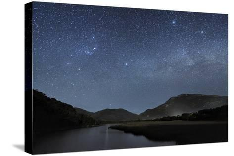 Milky Way Over Wilsons Promontory-Alex Cherney-Stretched Canvas Print