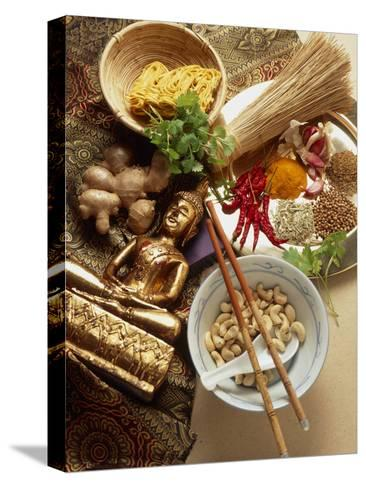 Ingredients for Cooking Thai Food-Erika Craddock-Stretched Canvas Print