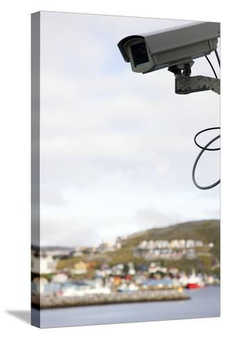 Security Camera-Cristina-Stretched Canvas Print